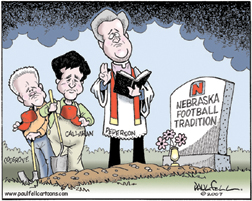 The Burial of Husker Tradition