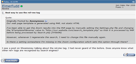 Web Traffic Machines Forum Dominator Final Result Screenshot