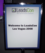 Leadscon Sign