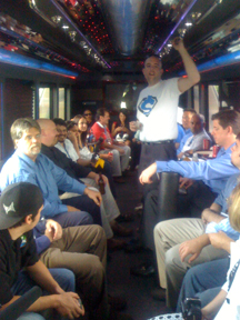 Top Affiliate Challenge Party Bus