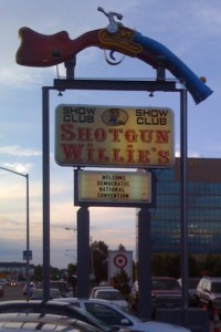 Shotgun Willies Strip Club Welcomes the DNC Convention