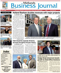 Midlands Business Journal Cover